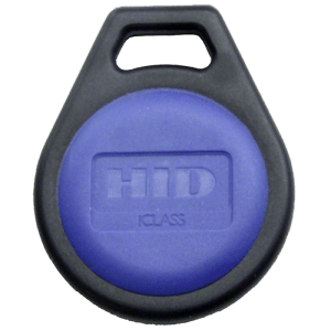 HID iClass 2k Key Fob Front