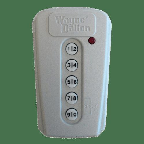 Wayne Dalton Keypad 372.5 MHz Front