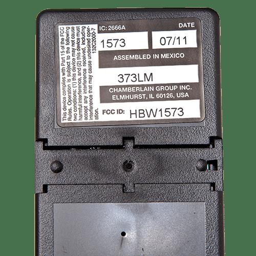 Liftmaster 3 Button Visor Back