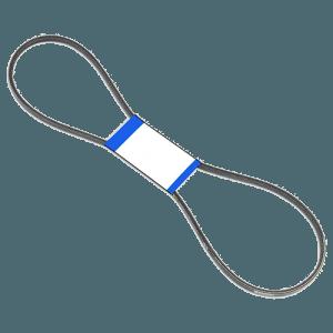 3L290 Size V-Belt Front