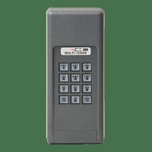 Multi-Code Wireless Keypad Front
