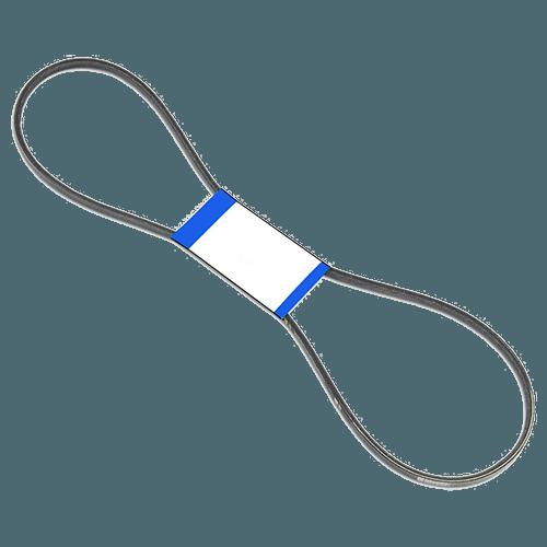 4L220 Size V-Belt Front
