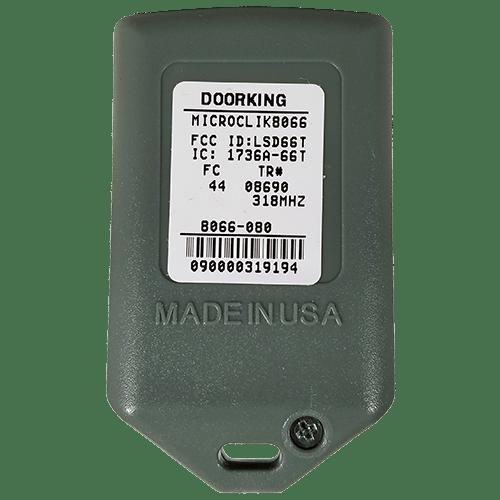 DoorKing MicroClick 1 Button Back