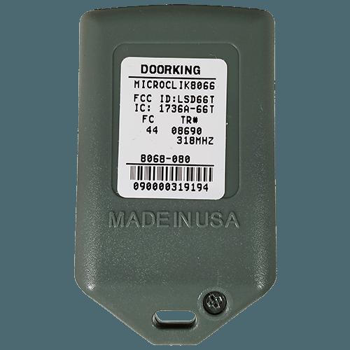 DoorKing MicroClick 3 Button Back