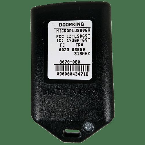 DoorKing MicroPlus 2 Button Back