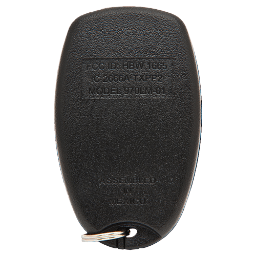 Liftmaster 3 Button Keychain Back
