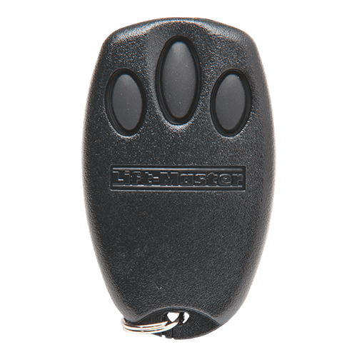 Liftmaster 3 Button Keychain Front
