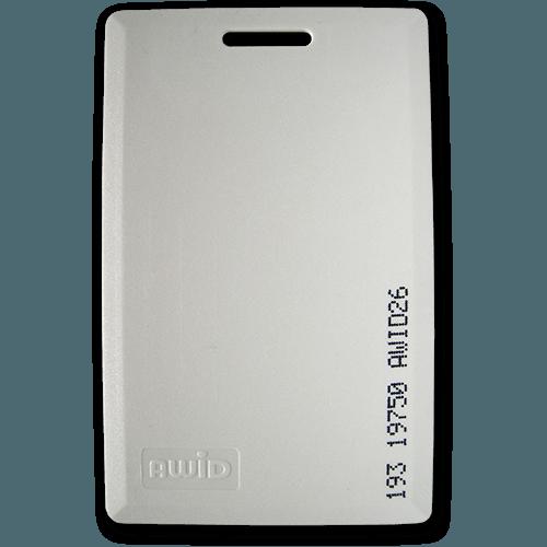 AWID CS Proximity Card 26Bit Format   Door Access Cards   Global Gate  Controls, Inc.