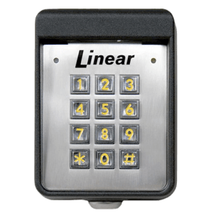 Linear Exterior Digital Keypad Front