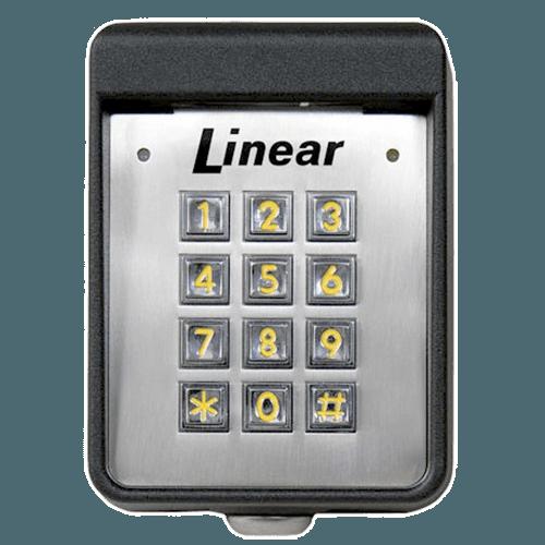 Linear Exterior Digital Keypad Front