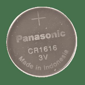CR1616 3 Volt Lithium Battery Front