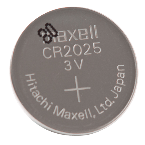 CR2025 3 Volt Lithium Battery Front