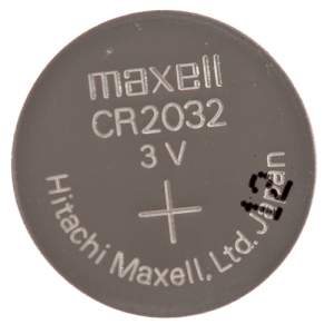 CR2032 3 Volt Lithium Battery Front