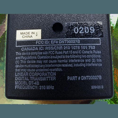 Linear Delta-3 4 Button Visor Back