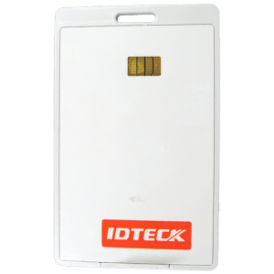 IDTeck Long Range Vehicle Tag For Metallic Windshields Front