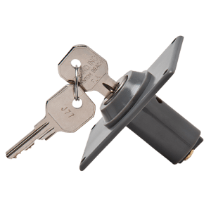 Garage Keyswitch 1 Sided Key Front