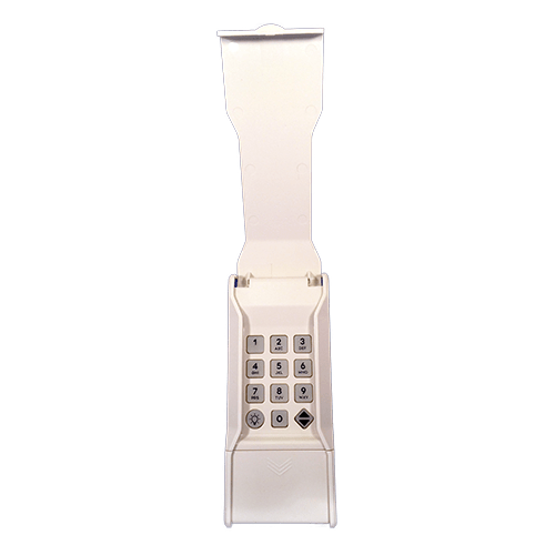 Linear MegaCode Keypad Front-Open