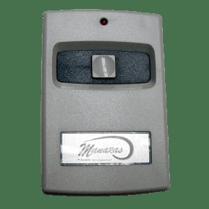 Manaras 1 Button Visor Remote Front