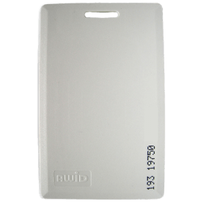 AWID 50 Bit RBH Format Proximity Card Front