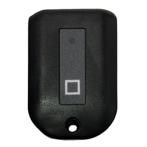 Kantech 1 Button Keychain Front