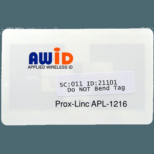 AWID Prox-Linc Windshield Sticker Tag Front