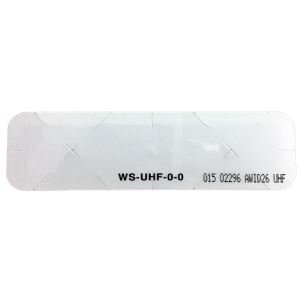 AWID UHF Windshield Sticker Tag Front